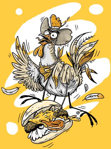 Wild Wild Chicken