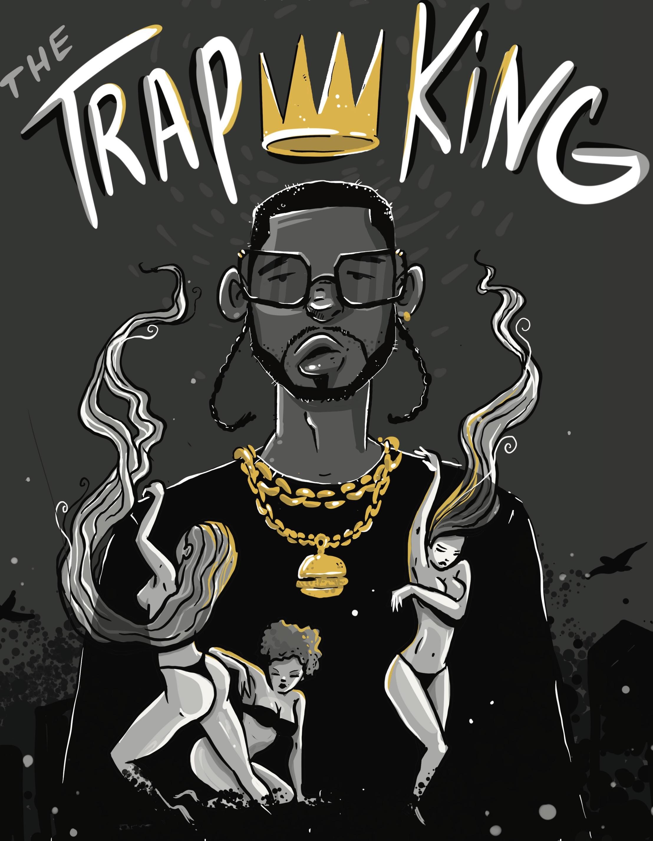 The Trap King Burger